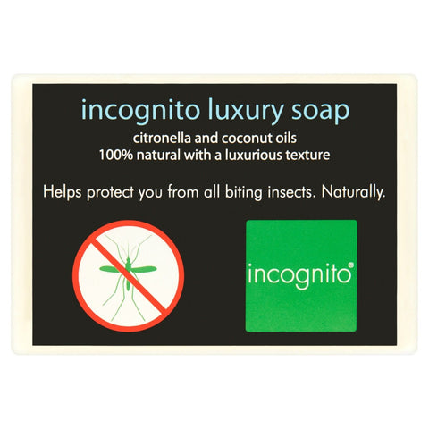 Incognito Luxury Natural Soap - Citronella / Coconut Oil