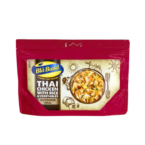 Blå Band Thai Chicken with Rice and Vegetables Freeze Dried Main Meal