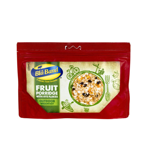 Blå Band Fruit Porridge with Rye Flakes Freeze Dried Breakfast