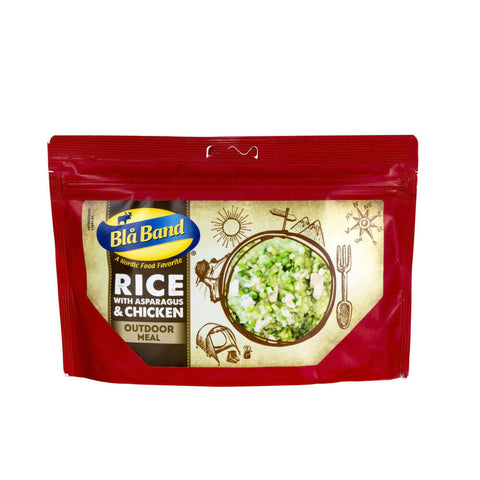 Blå Band Rice with Asparagus and Chicken Freeze Dried Main Meal