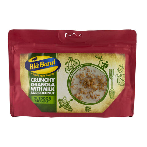 Blå Band Crunchy Granola with Milk and Coconut Freeze Dried Breakfast
