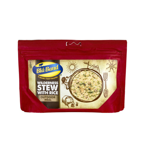 Blå Band Wilderness Stew with Rice Freeze Dried Main Meal