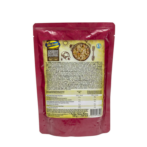 Blå Band Swedish Meatballs with Creamy Potatoes Wet Food Pouch
