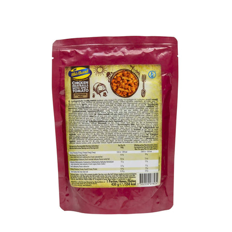 Blå Band Chicken Meatballs with Spicy Tomato Wet Food Pouch
