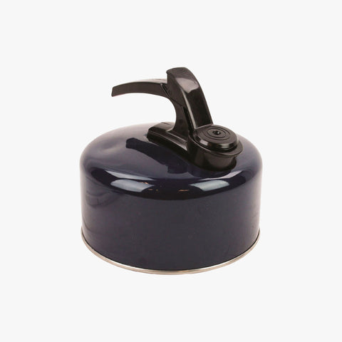 Highlander Aluminium 2L Whistling Kettle - Dark Navy