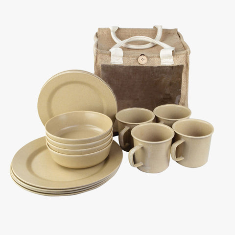 Highlander 16-Piece Eco-Friendly Picnic Set