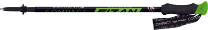 Fizan Compact Walking Pole - Green - Pair of 2