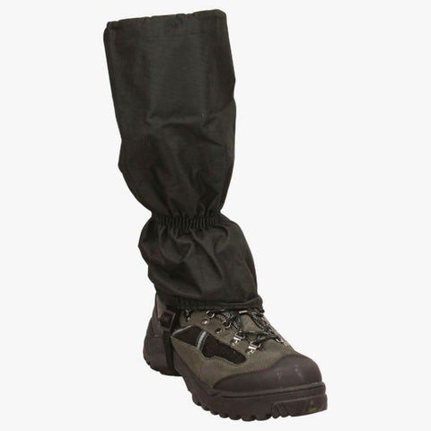 Highlander Classic Gaiters - Black, One Size