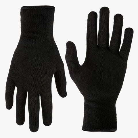 Highlander Thermal Inner Gloves - Black, One Size