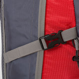 Highlander Hiker 40l Day/Weekend Rucksack Red, Navy Blue