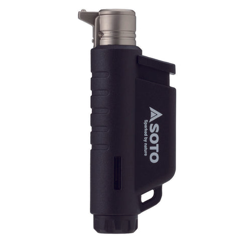 SOTO Vertical Micro Torch / Lighter - Black / Blue / Orange