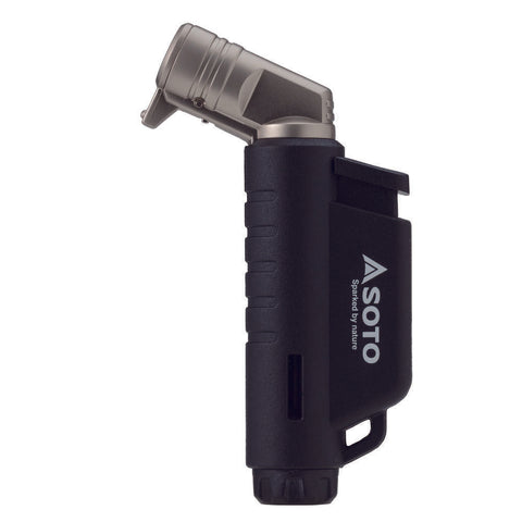 SOTO Horizontal Micro Torch / Lighter - Black / Blue / Orange