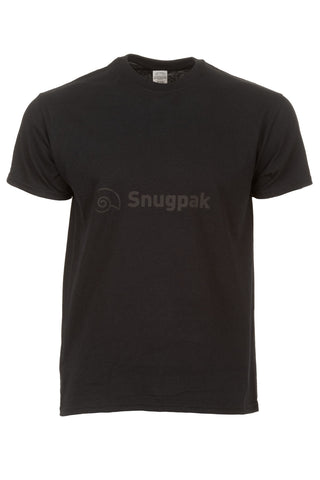 Snugpak Cotton T-Shirt with Logo - Black