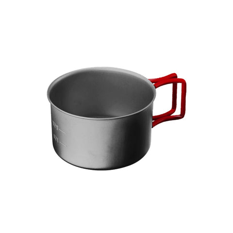 Evernew Titanium Cup 400fd- Ultralight Titanium Cookware made in Japan since 1923