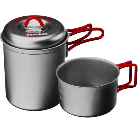 Evernew Titanium Stacking Set- Titanium Cookware made in Japan since 1923