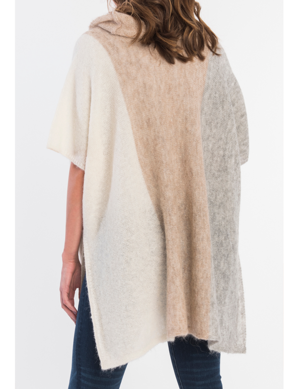 Alpaca Color-Block Sweater