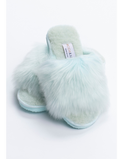 Slide Alpaca Slippers