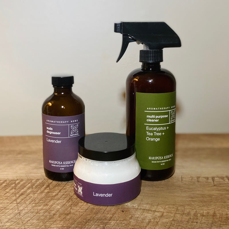Aromatherapy Cleaning Bundle