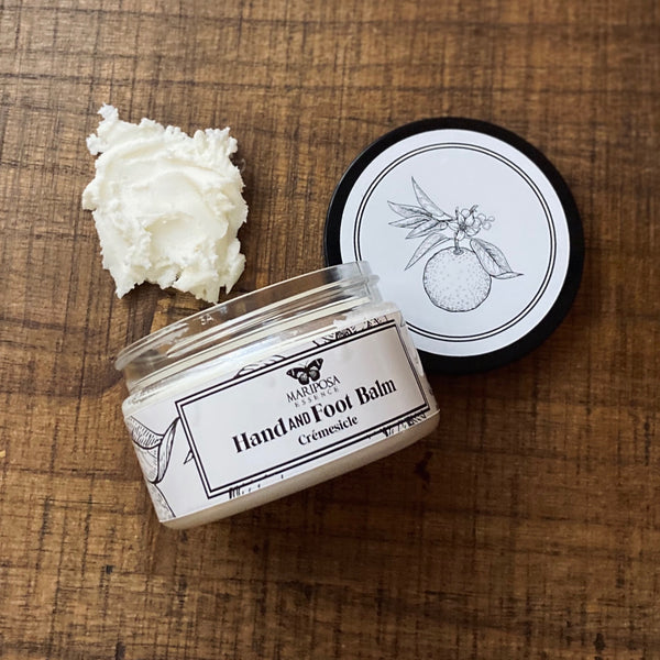 Cremesicle Hand and Foot Balm