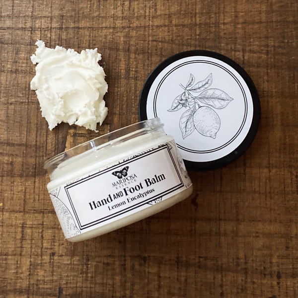 Hand and Foot Balm, Lemon Eucaluptus