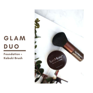 La Mav Foundation and kabuki brush