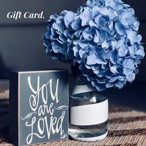 Gift card from Naturally Fabulous