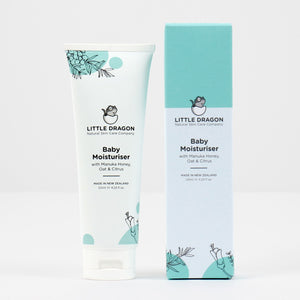 Little Dragon Baby Moisturiser. NZ Made. Cruelty Free. For sensitive skin. Enviro-Friendly.