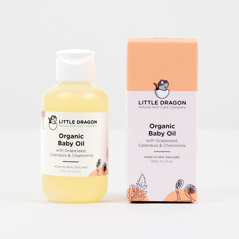 Little Dragon Organic Baby Oil 120ml
