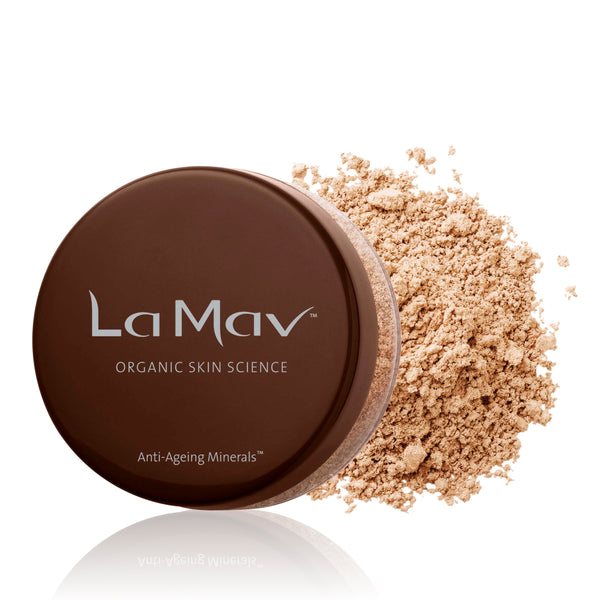 La-Mav-Anti-Ageing-Mineral-Foundation-Light/Medium