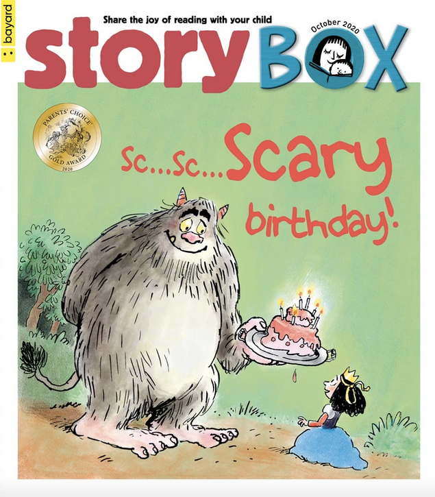 STORY BOX Subscription - From 3 to 6