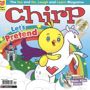 CHIRP- BACK ISSUE October 2020