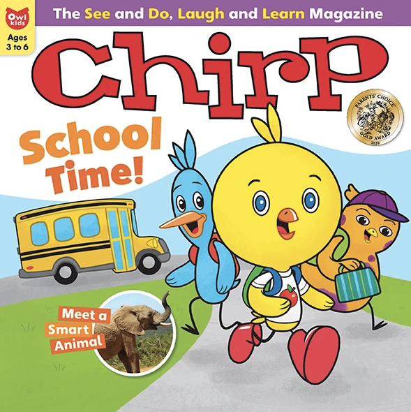 CHIRP- BACK ISSUE September 2020