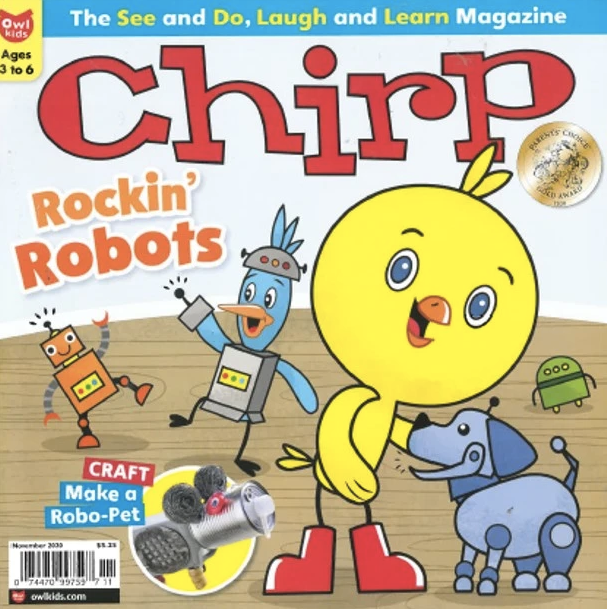 CHIRP- BACK ISSUE November 2020