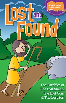 LOST AND FOUND - Sticker Booklet
