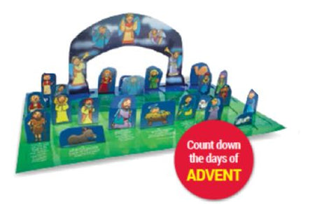 Up Above Bethlehem A pop-Up Window Calendar for Advent