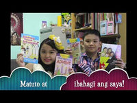 Children's sticker Booklets Complete Tagalog Set