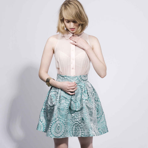 Alisa Dress - Mint