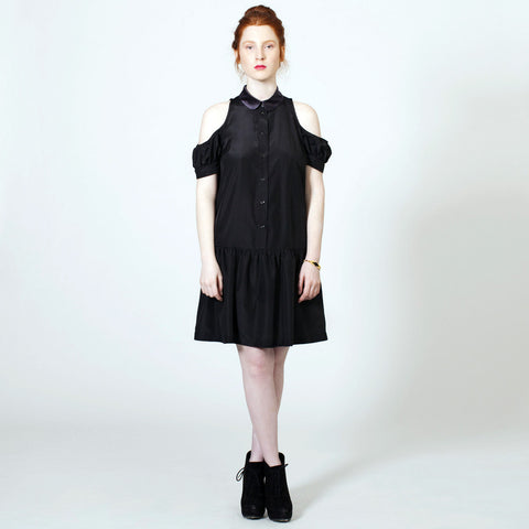 The Baby Jane Dress - Black Crepe