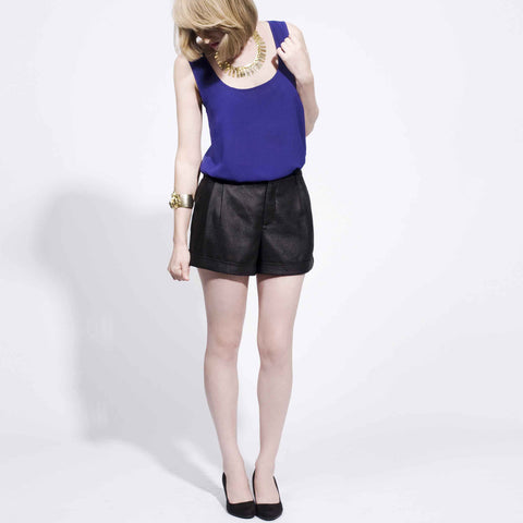 Tailored Shorts - Black