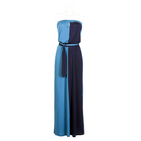 Easy Peasy Maxi - Blue and Navy