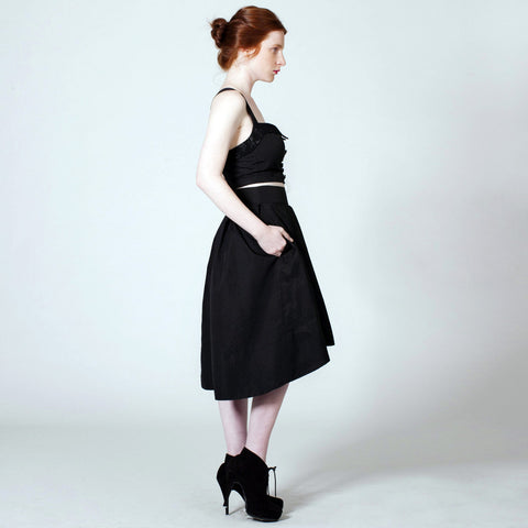 The Eyre Skirt - Black