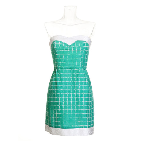 Favorite Dress - Green Silk