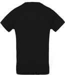 T-Shirt Homme Not in Grand Est - 100% Coton Bio - Noir