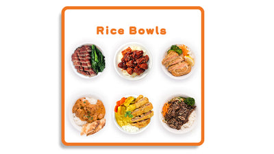 Rice Bowl Menu
