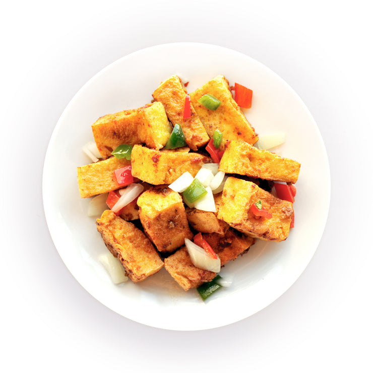 Chilli Pepper Crispy Tofu