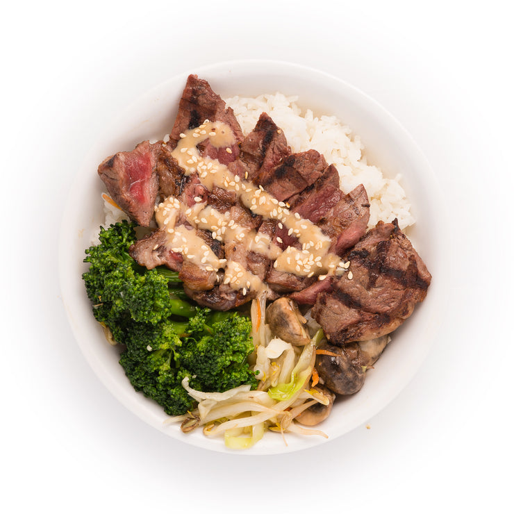 Japanese NY Steak Bowl