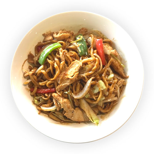 Stir Fried Teriyaki Noodle Bowl