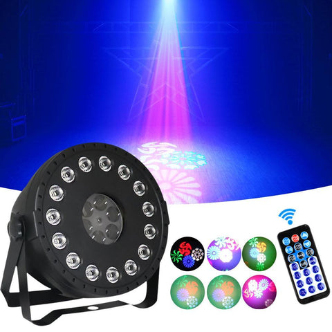 15 LED Party Lights Multieffect PAR Lights