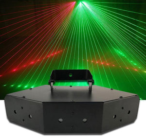 6 Lens Scan Laser Light Line Beam - RollingStar