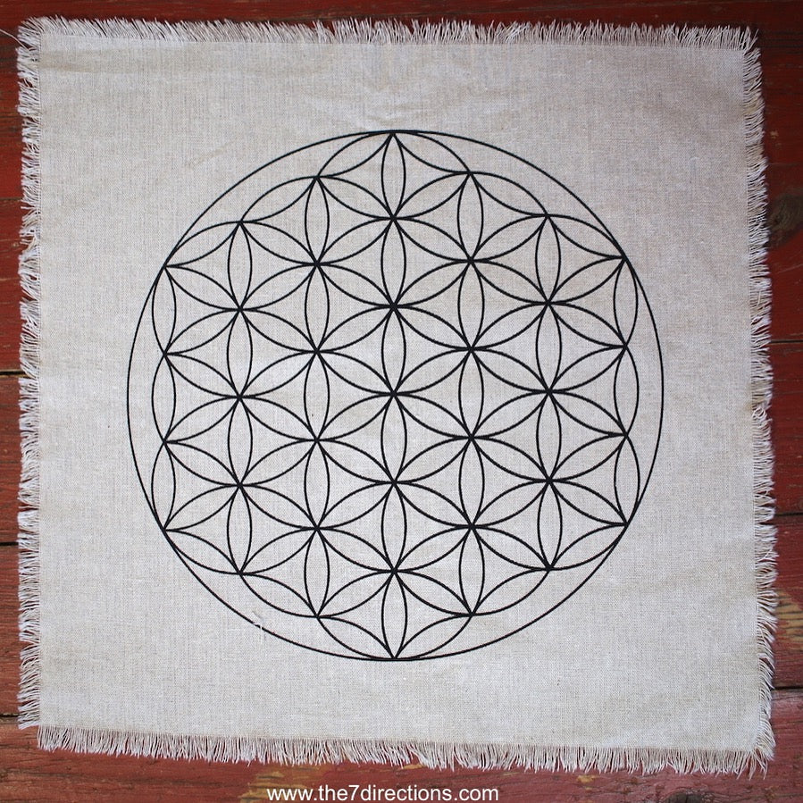Flower of life crystal grid - The7directions